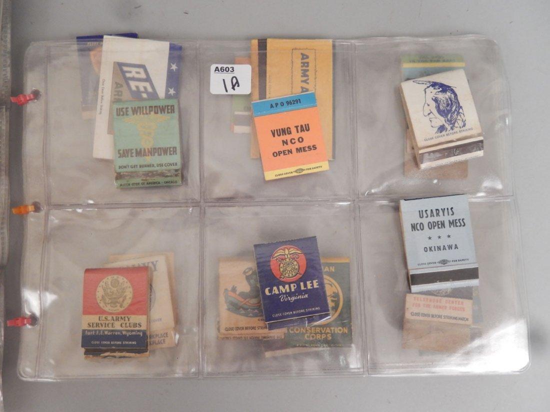 Lot of Mid 20th C. matchbooks - 2
