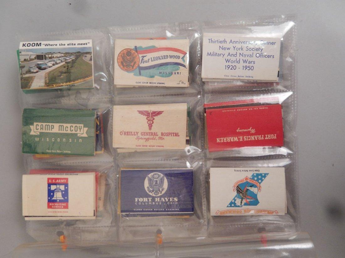 Lot of Mid 20th C. matchbooks - 5