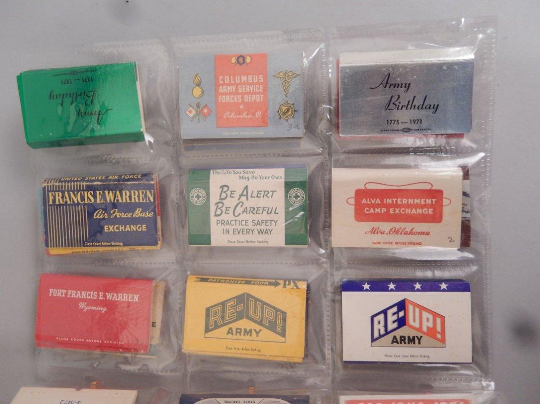 Lot of Mid 20th C. matchbooks - 6