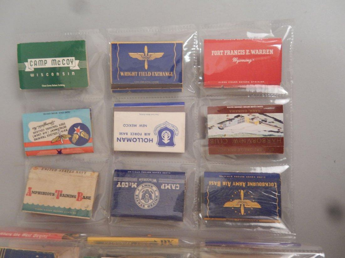Lot of Mid 20th C. matchbooks - 7