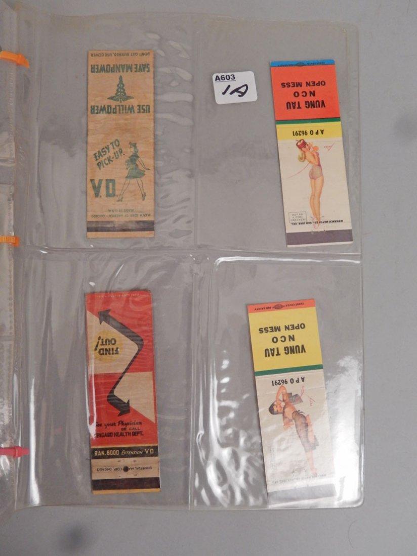 Lot of Mid 20th C. matchbooks - 8