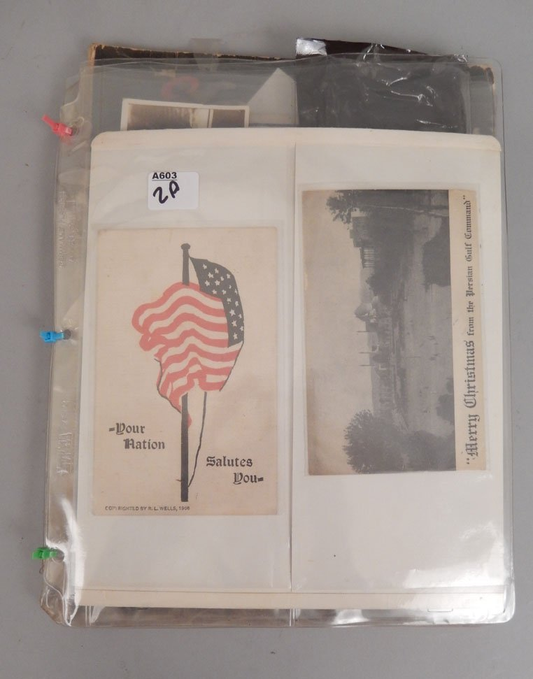 Lot of ephemera of the First and Second World Wars