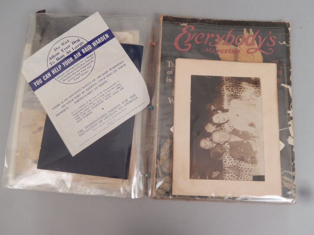 Lot of ephemera of the First and Second World Wars - 5
