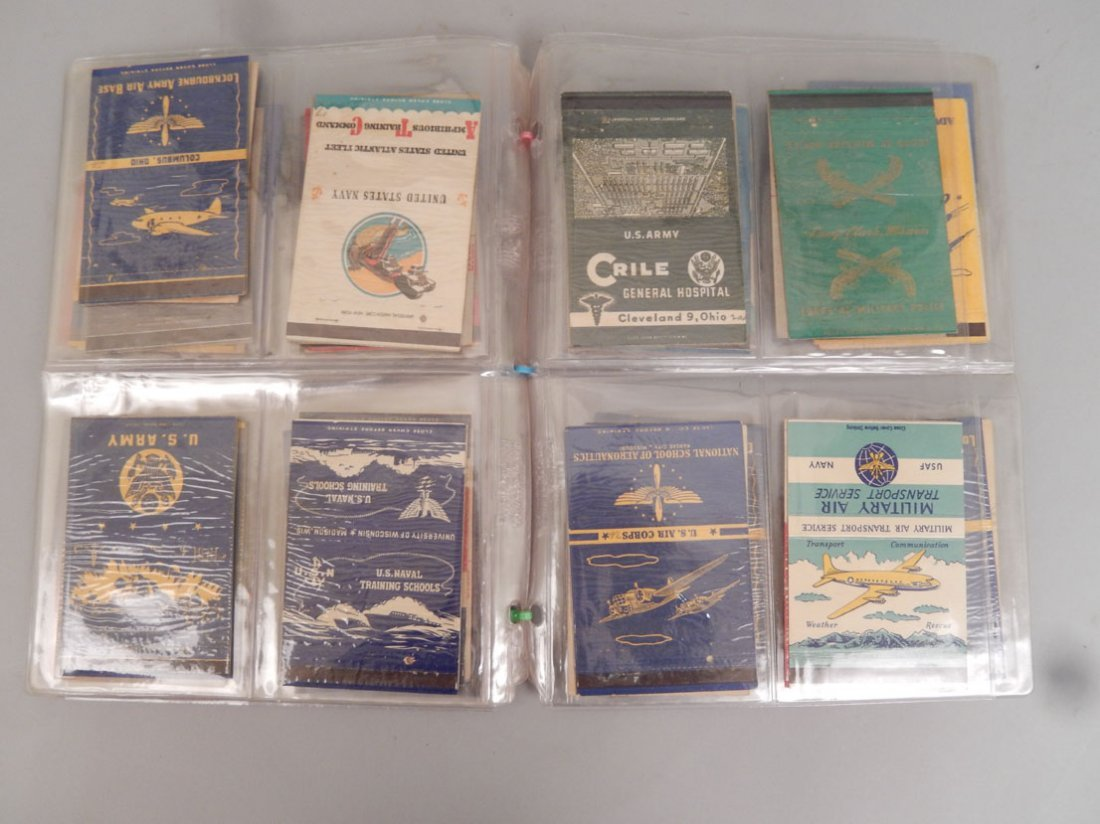 Lot of WWII matchbooks - 4