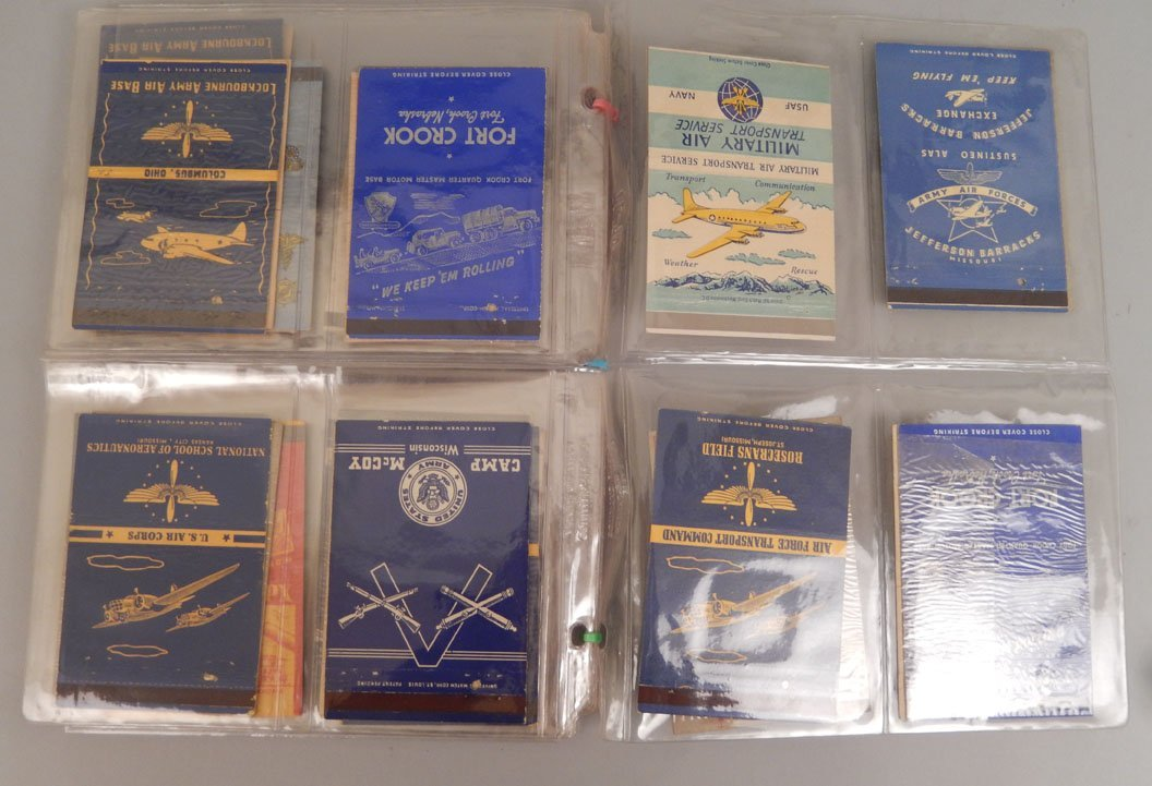 Lot of WWII matchbooks - 5