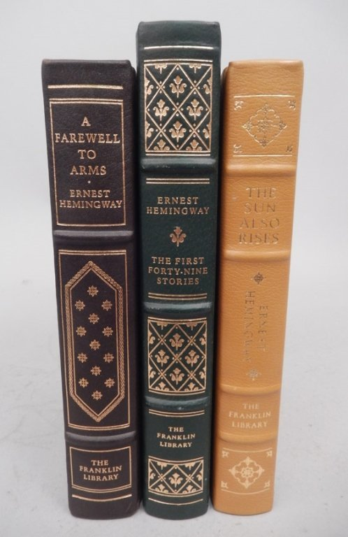 Three Franklin Library books
