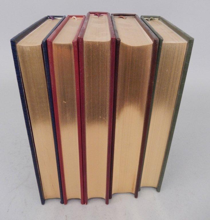 Five Franklin Library books - 2