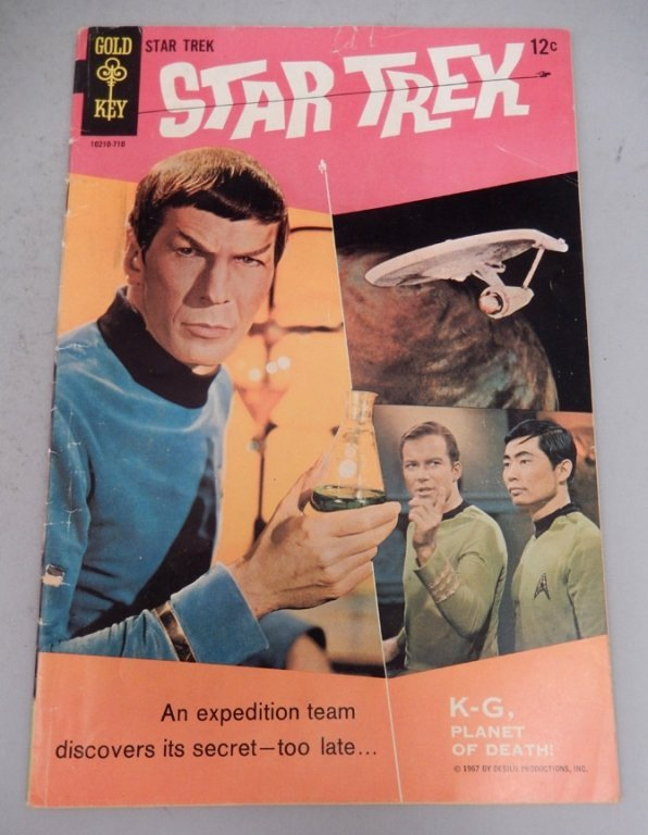 Gold Key Comic Star Trek #1