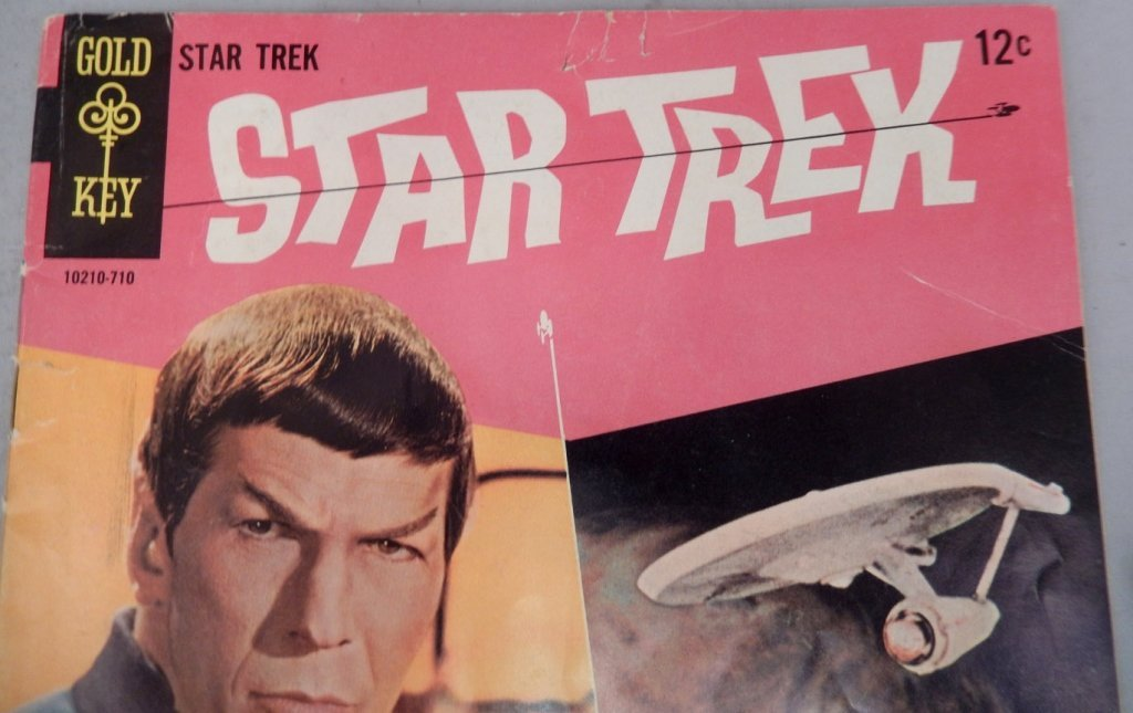 Gold Key Comic Star Trek #1 - 3