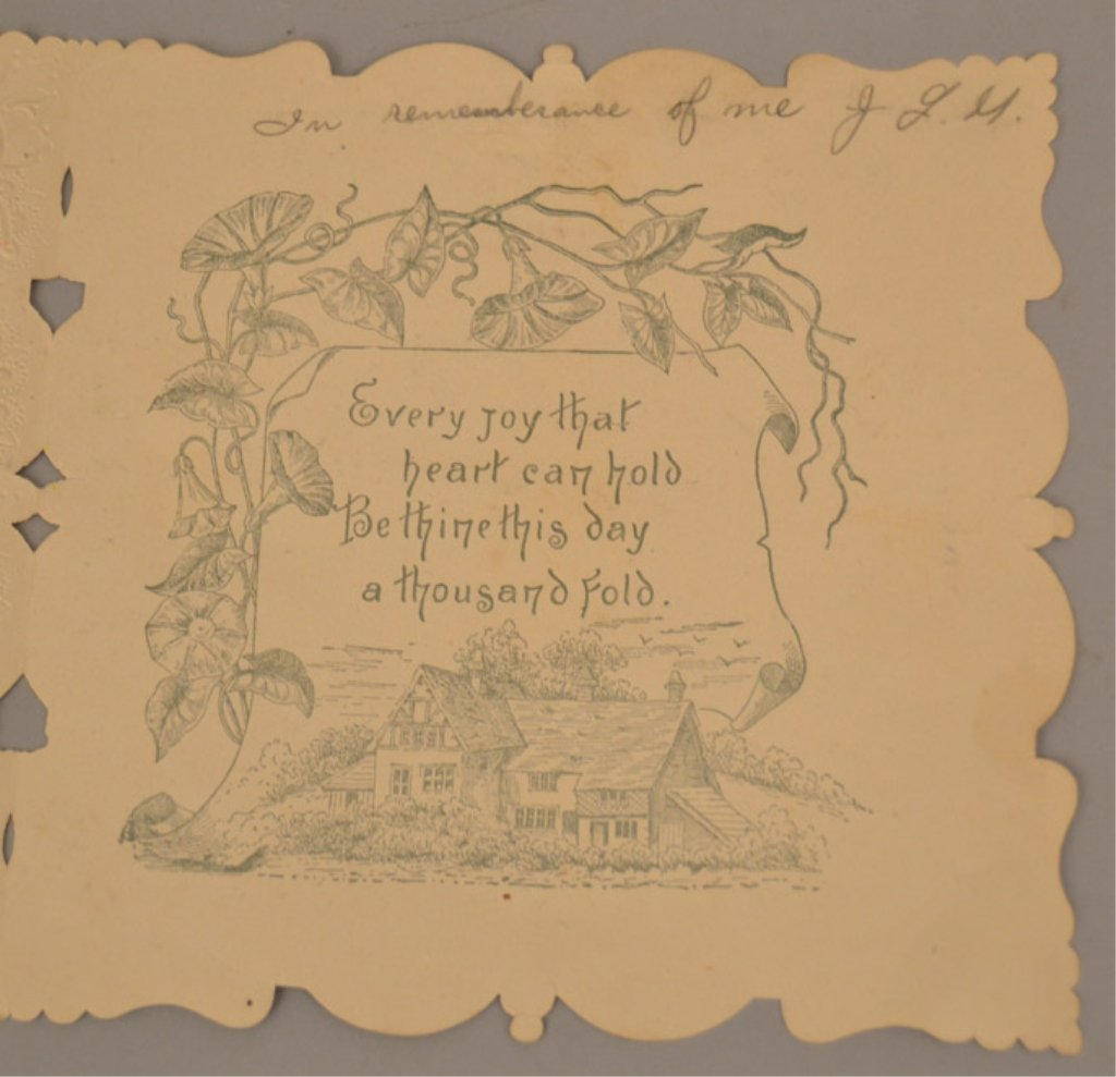Two Victorian pop up cards - 10