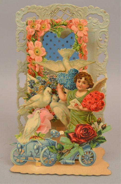 Two Victorian pop up cards - 3