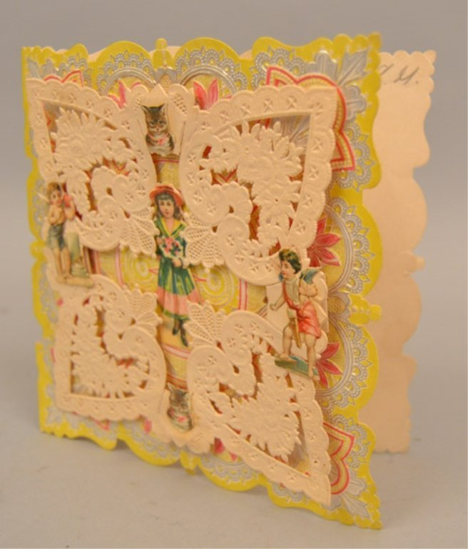 Two Victorian pop up cards - 8
