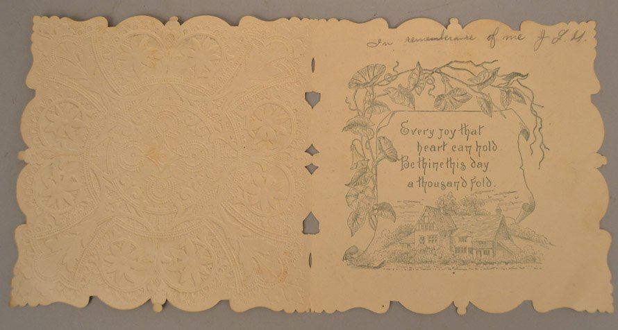 Two Victorian pop up cards - 9