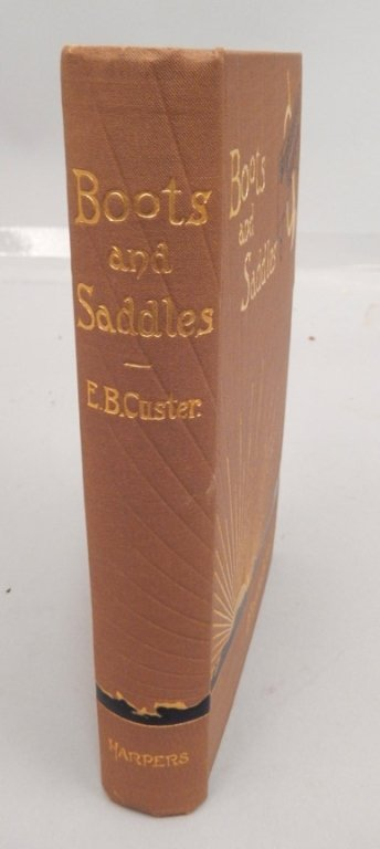 Boots and Saddles by Elizabeth B. Custer