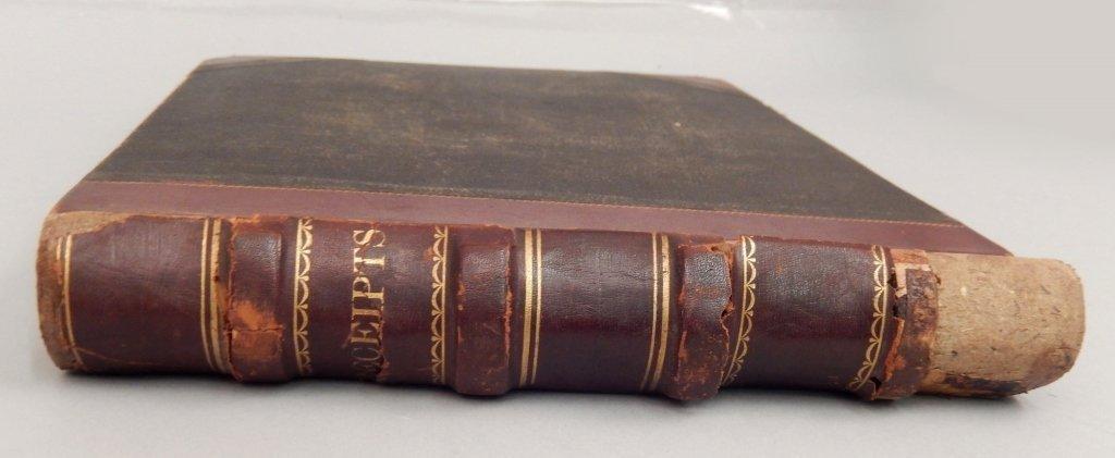 Late 19th C. receipt book - 3