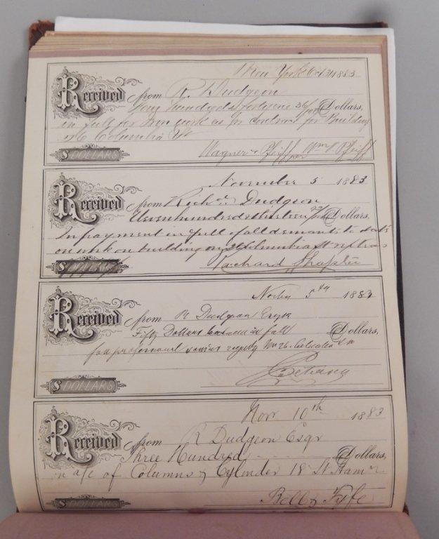Late 19th C. receipt book - 4