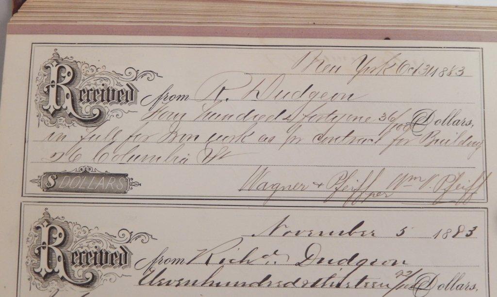 Late 19th C. receipt book - 5