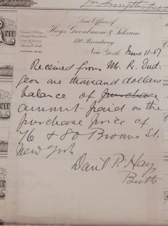 Late 19th C. receipt book - 7