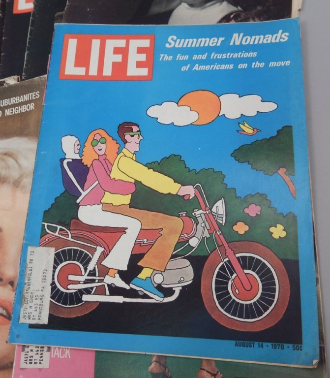 Lot of Mid 20th C. Life magazines and Post magazine - 4