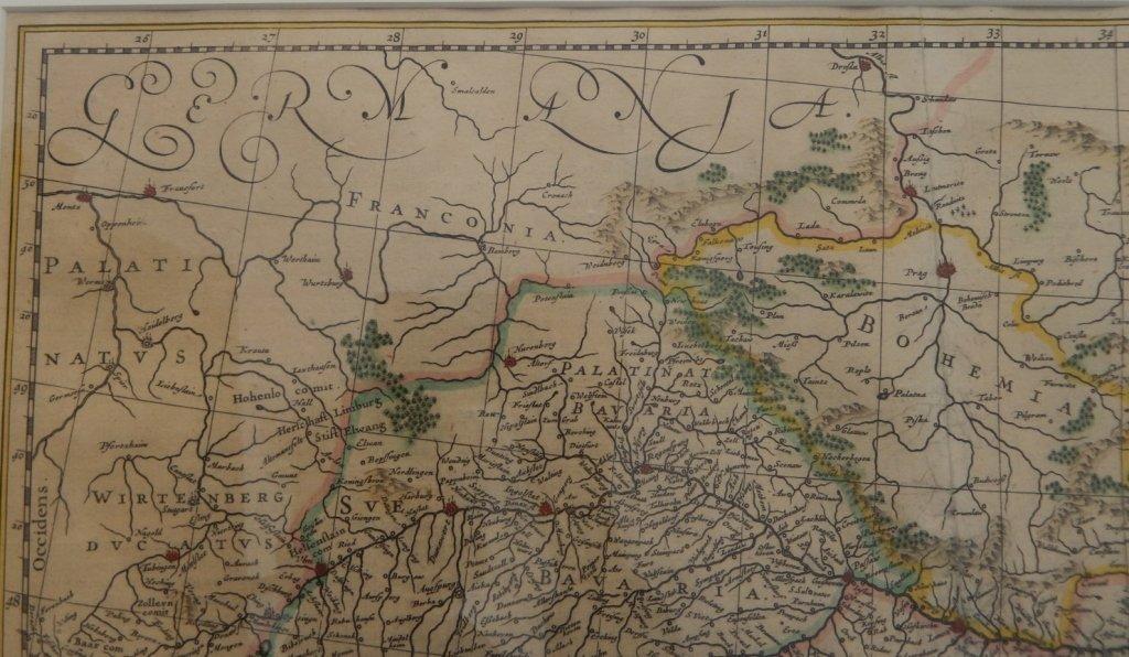 Framed map Danubius Fluvius Maximus, A Fontibus Ad - 7