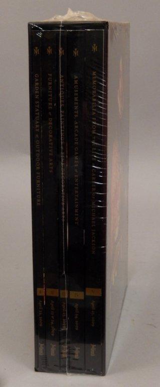 Five volume set of catalogs - 2