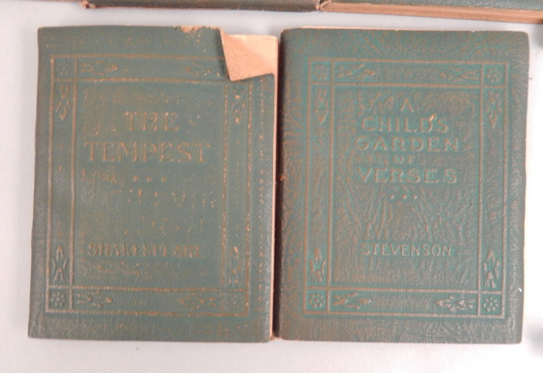 """34 Volumes of the """"Little Leather Library Corporation - 2"""
