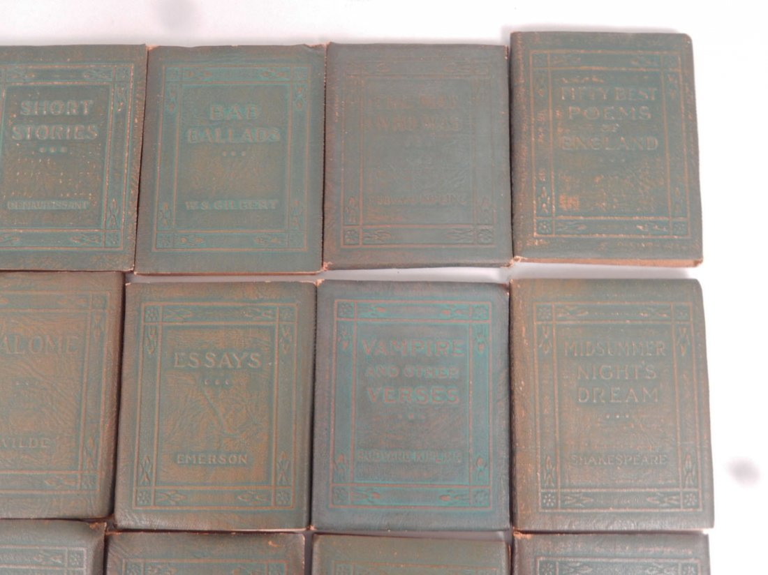 """34 Volumes of the """"Little Leather Library Corporation - 4"""