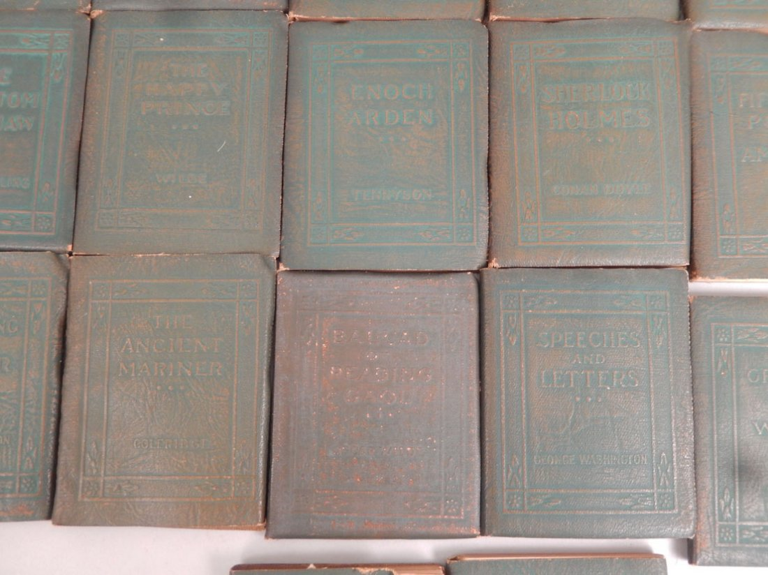 """34 Volumes of the """"Little Leather Library Corporation - 6"""