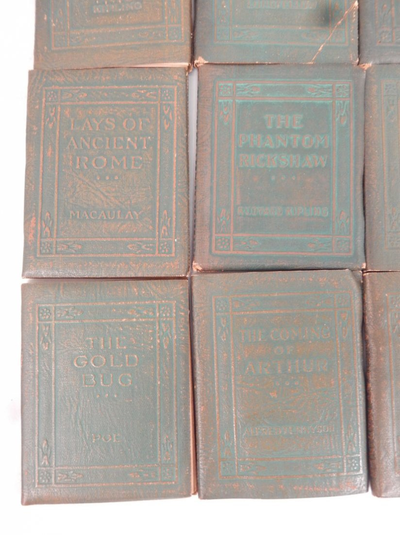 """34 Volumes of the """"Little Leather Library Corporation - 7"""