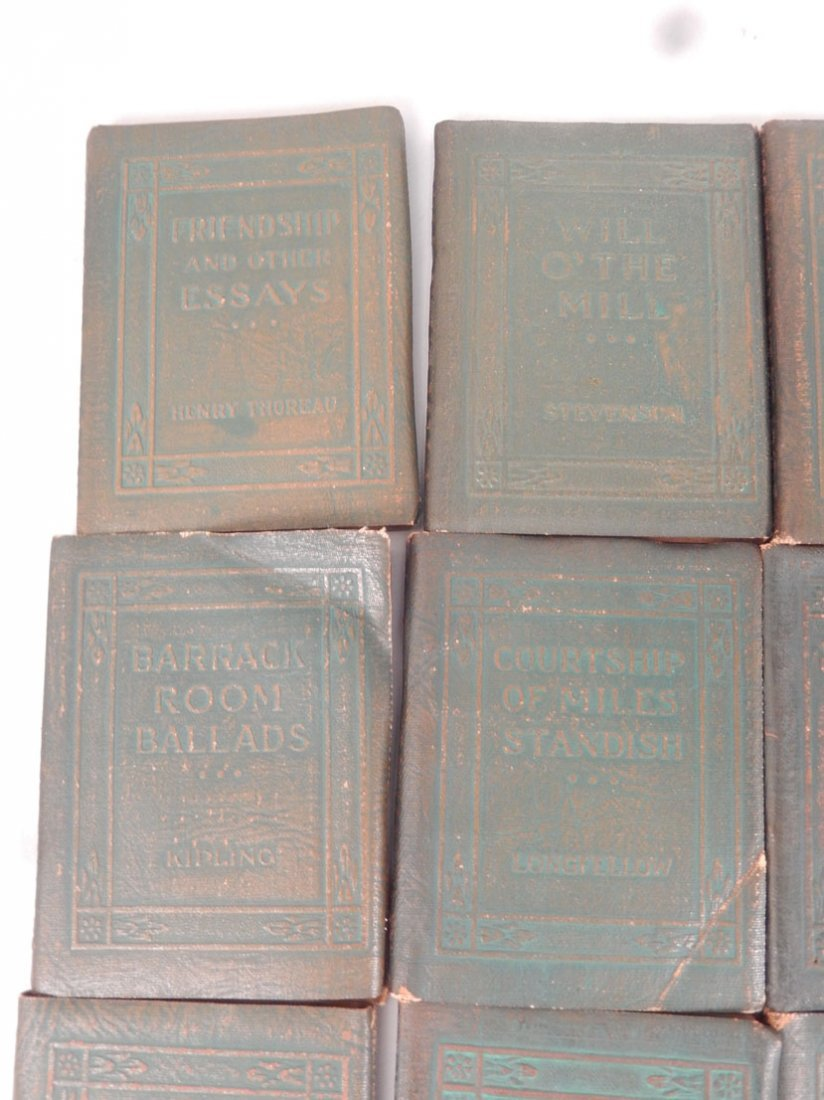 """34 Volumes of the """"Little Leather Library Corporation - 8"""