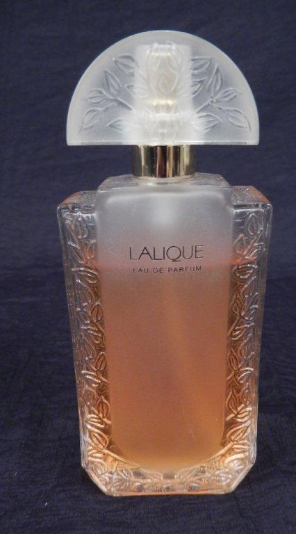 Three Lalique crystal perfume bottles - 3