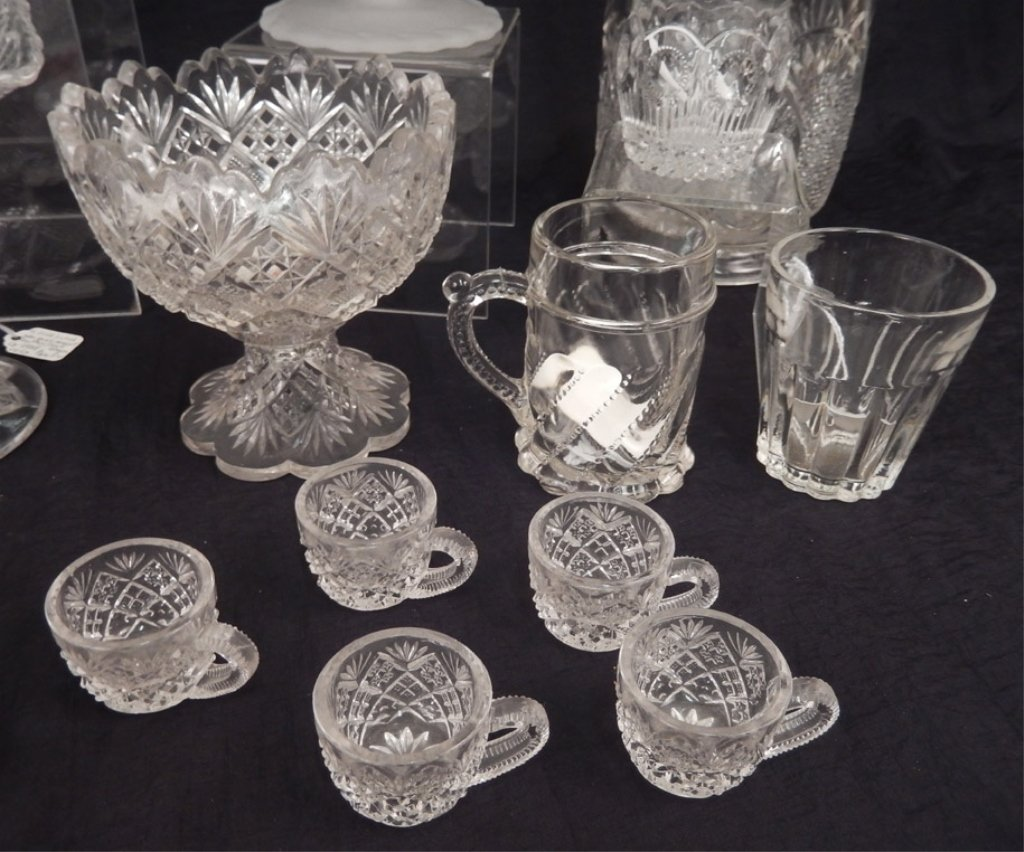 Grouping of glassware - 2