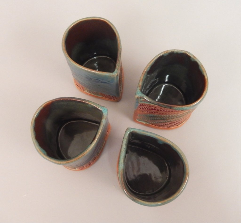 Helene Fielder pitcher and four cups - 5