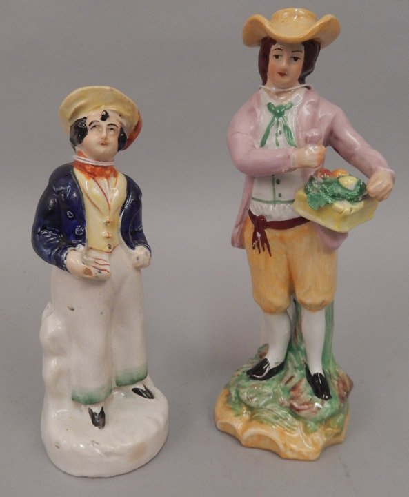 Two Staffordshire figurines