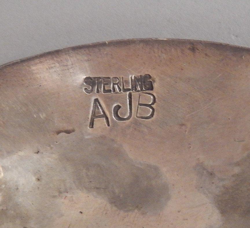 1960's Navajo hammered sterling concho belt - 2