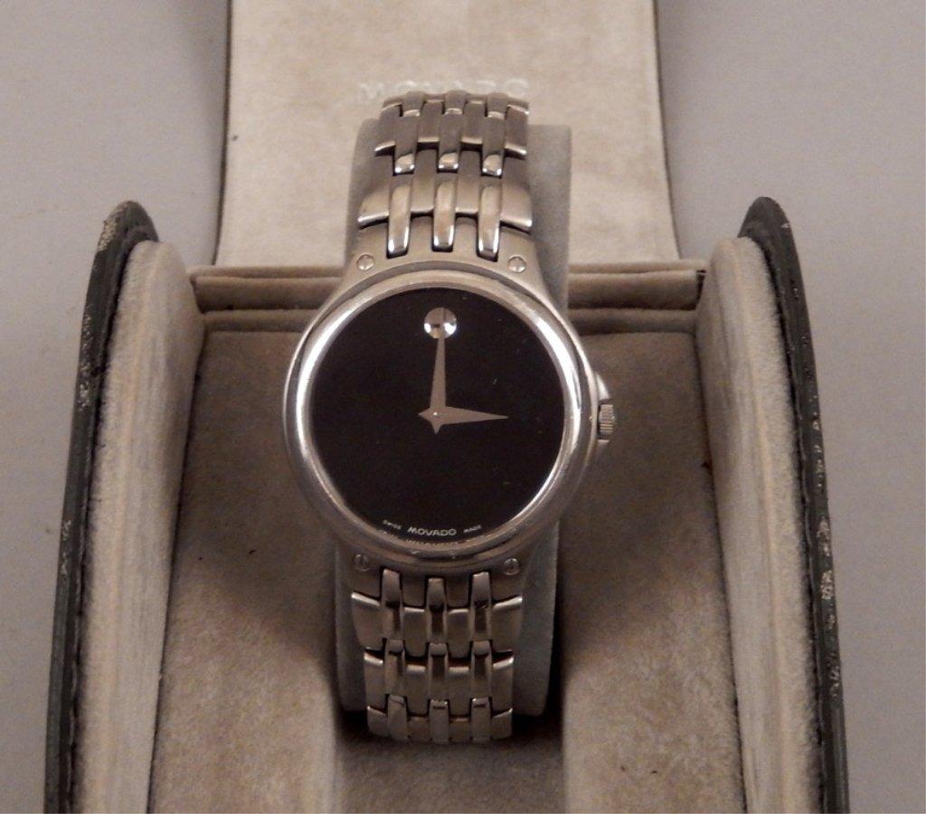 Movado men's wrist watch in case - 2
