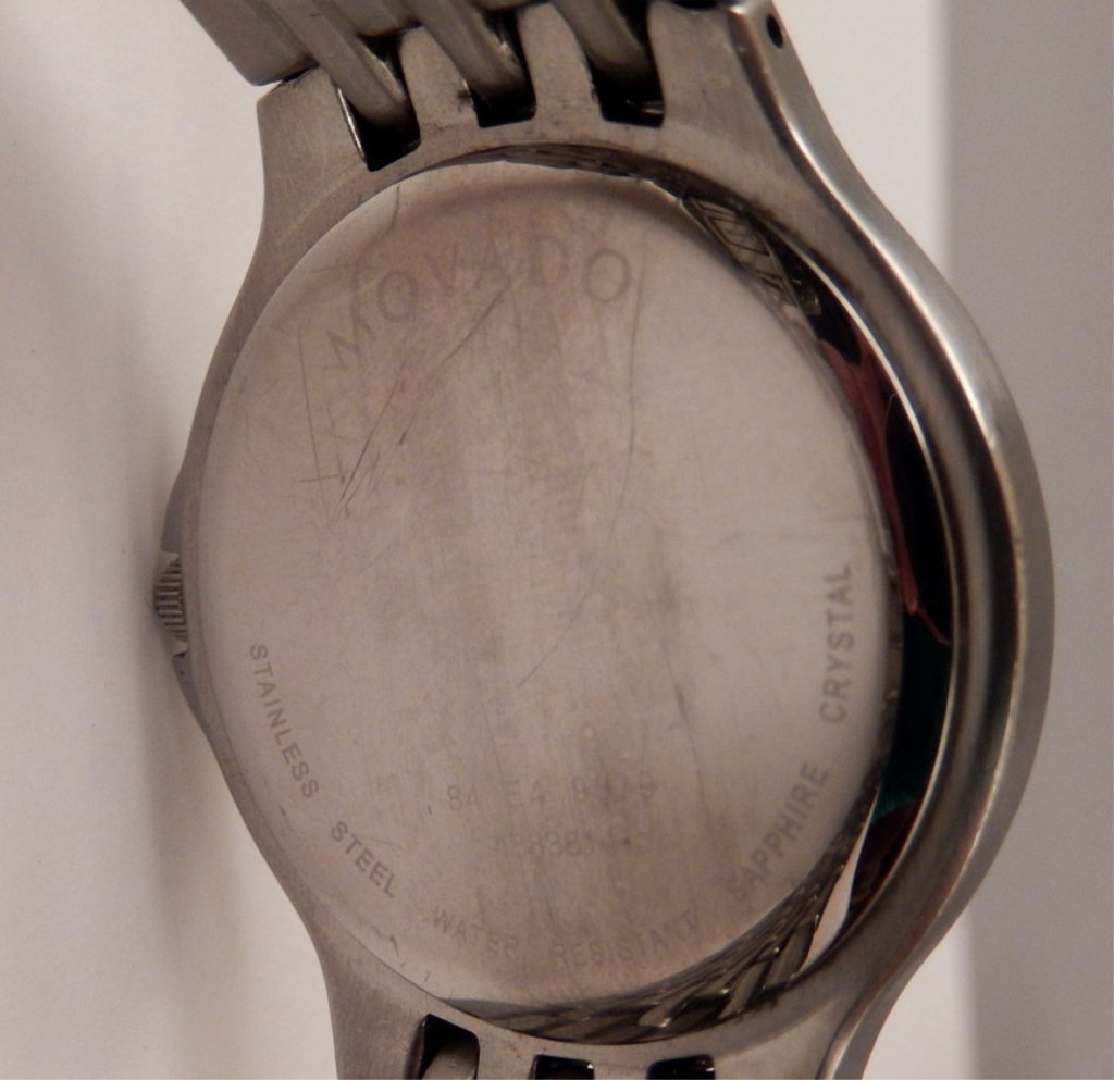 Movado men's wrist watch in case - 3