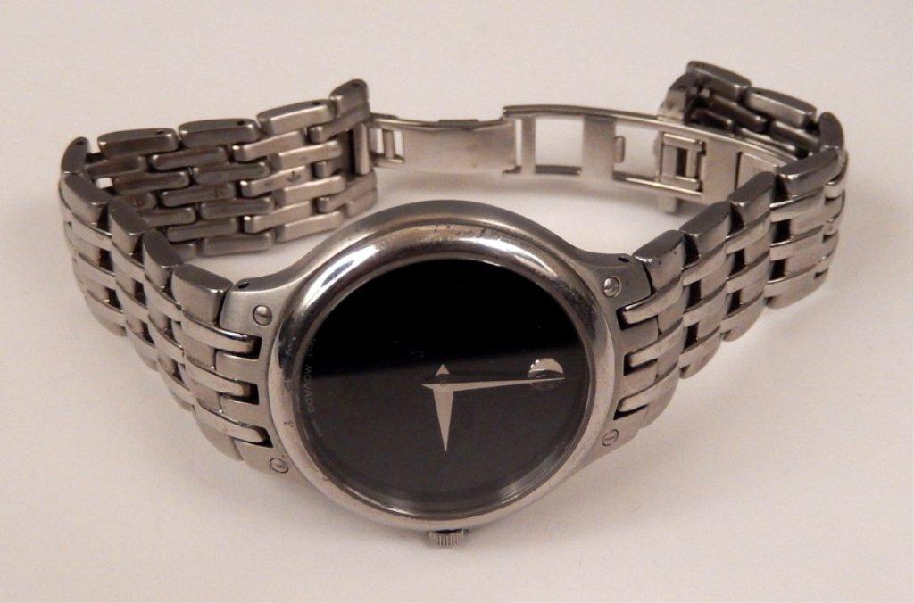 Movado men's wrist watch in case - 4
