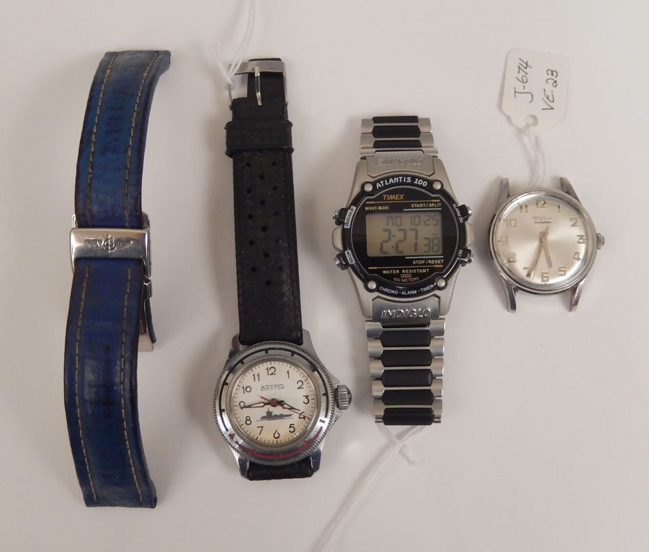 Men's watches and Breitling deployment buckle