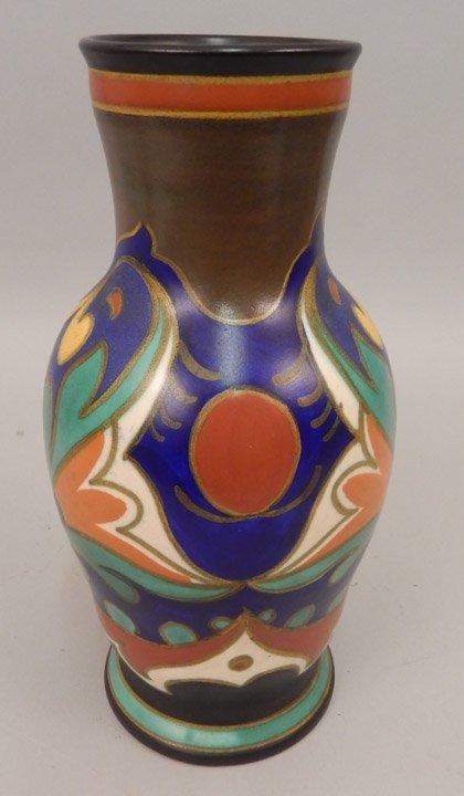 Gouda pottery vase
