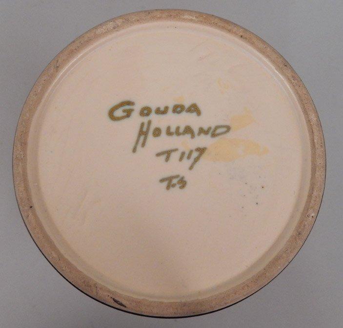 Gouda pottery vase - 3