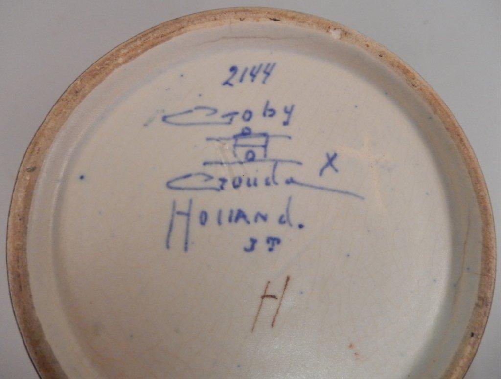 Large Gouda pottery vase - 4