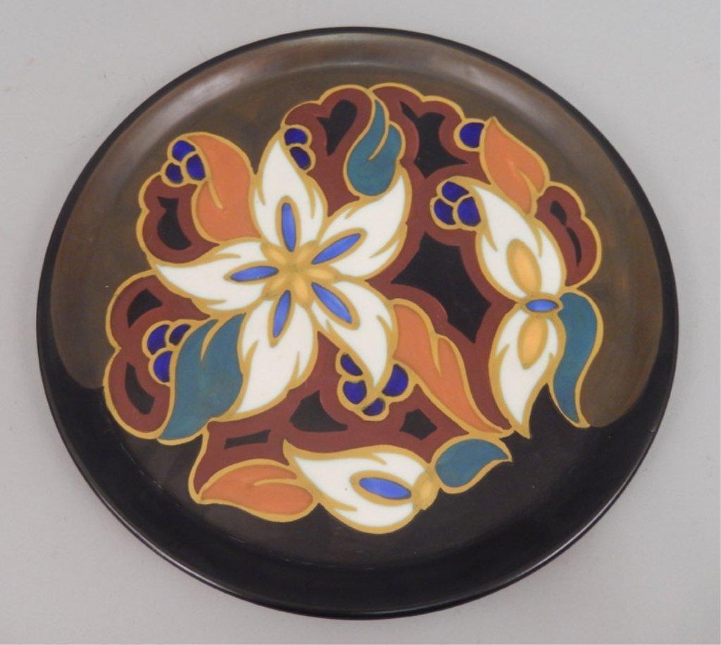 Gouda pottery Daisy plate