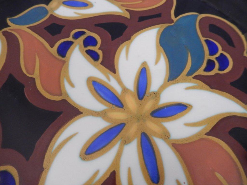Gouda pottery Daisy plate - 4