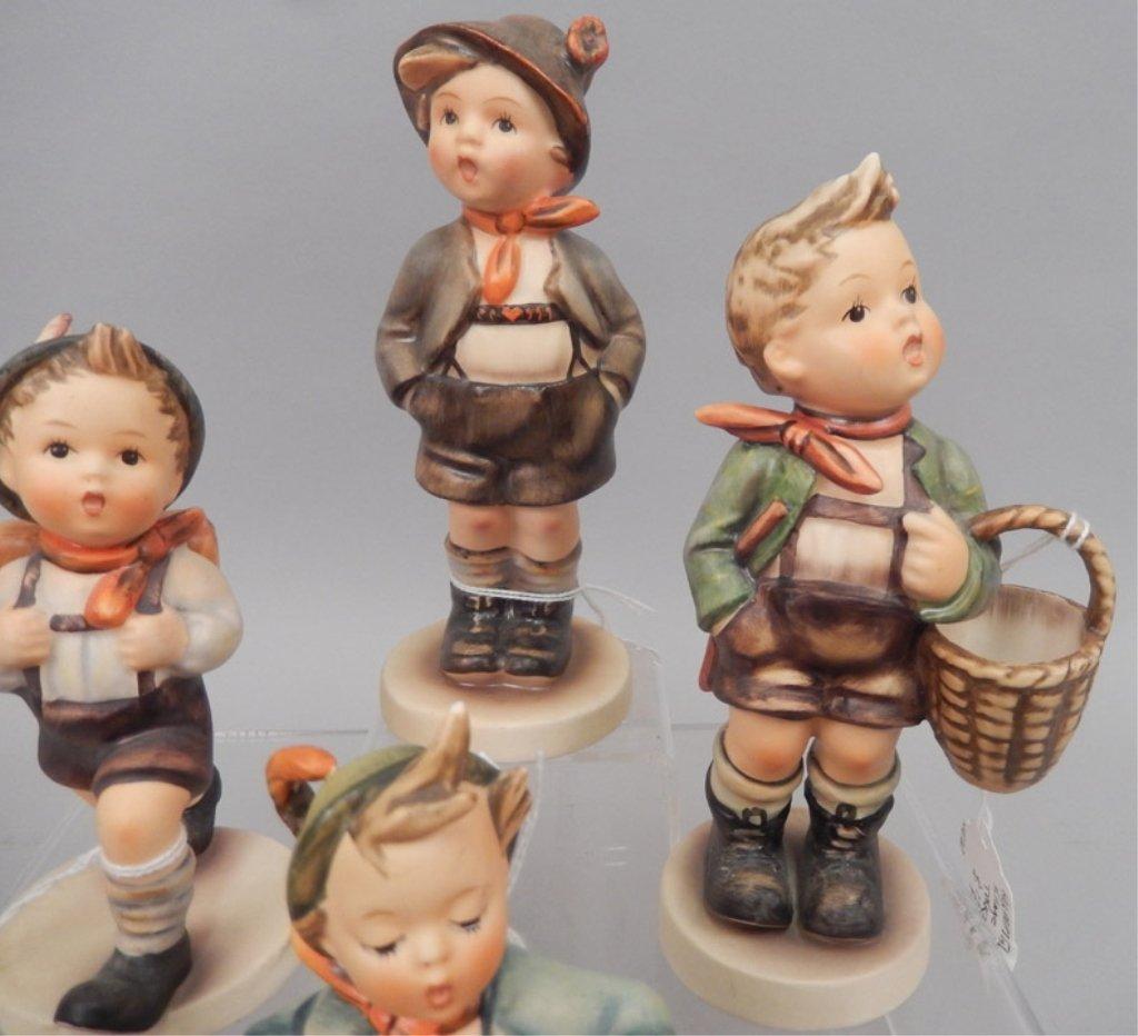 Seven Hummel figurines - 4