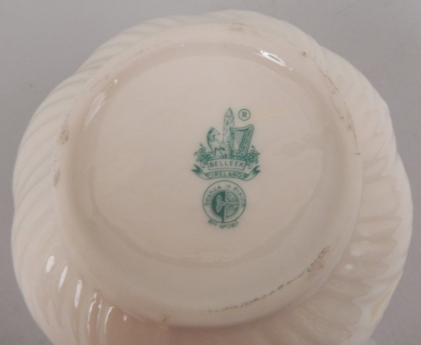 Four pieces of Belleek - 5