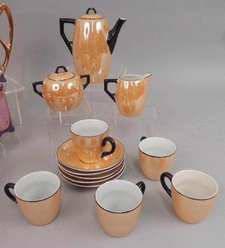 Two demitasse tea sets - 2