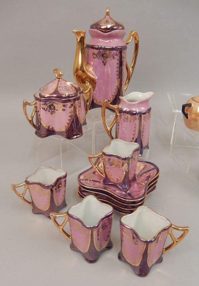 Two demitasse tea sets - 3