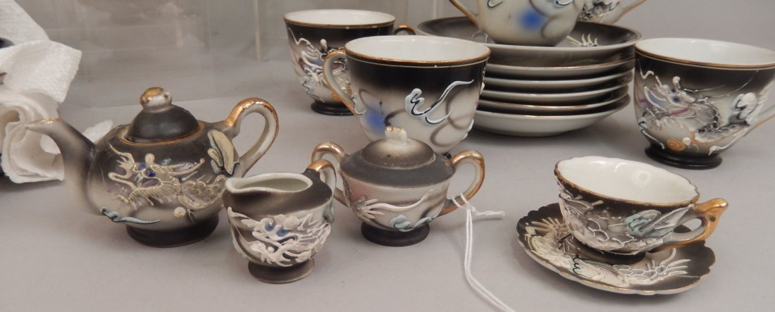 Dragonware luncheon and tea sets - 2