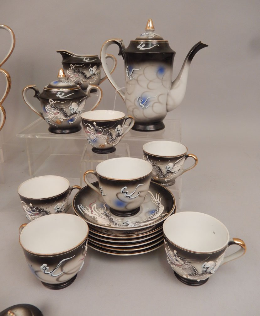 Dragonware luncheon and tea sets - 3